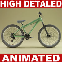 Mountain bike V2 (Animated)