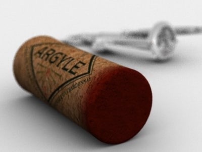 3ds max wine cork - Wine Cork... by GrafX3D