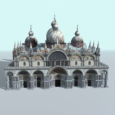 church s marco c4d - S.Marco... by FraP