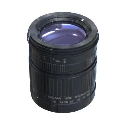 3d lens sigma af 18 125mm model