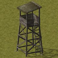 3d guard tower