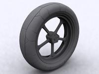 3d model motorbike tire
