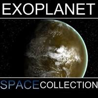 alien desert planet x