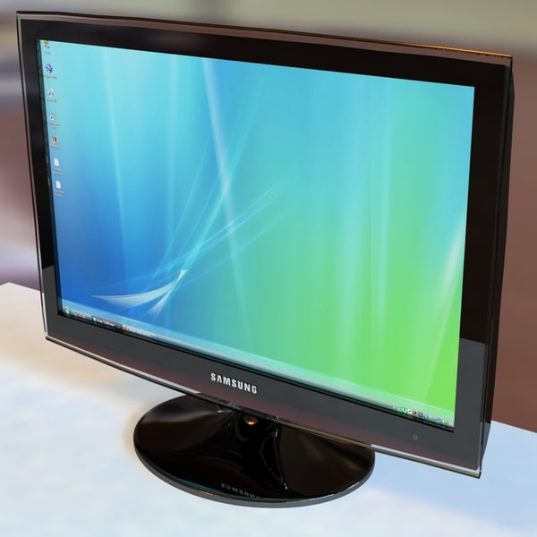 monitor t220 3d model - Monitor T220... by Juzamn