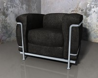 grand confort chair 3d model