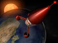 3ds max tintin rocket