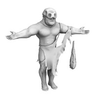 3d man fantasy model