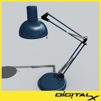 3d swing desk lamp