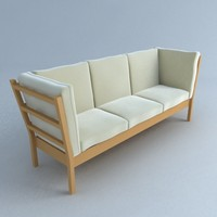 loveseat chair andreas 3d 3ds