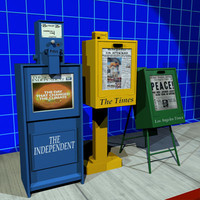 Newspaper Box Collection 01