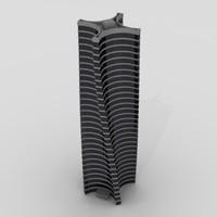skyscraper sky scraper 3d 3ds