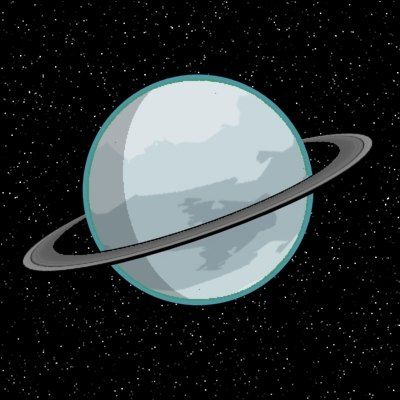 Animated Planet Uranus - Pics about space