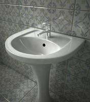 3dsmax wash fountain