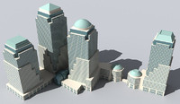 3ds max world financial center new york
