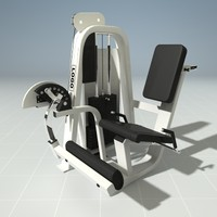 leg extension machine precor 3d max