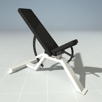 PRECOR 119CLX Incline Bench