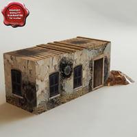 3d arab house v7 model