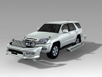 toyota hilux surf 3d model
