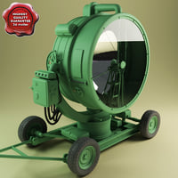 Military searchlight