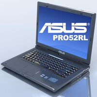 lightwave notebook asus pro52rl laptop