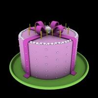birthday 3d max