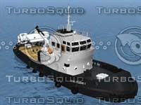tug boat 3d max
