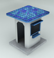 security guard house
