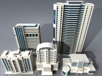 buildings skyscraper 3d model