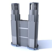 metropolitan government 3d model