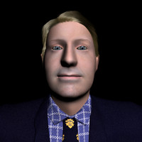 Businessman model 2