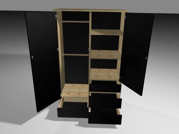 Ikea Glasvitrine Mit Beleuchtung ~ max ikea mandal wardrobe  Mandal Wardrobe  by werecow