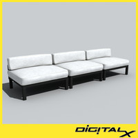 3dsmax sectional sofa