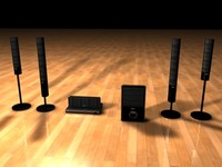 Sony Surround Speakers.3ds