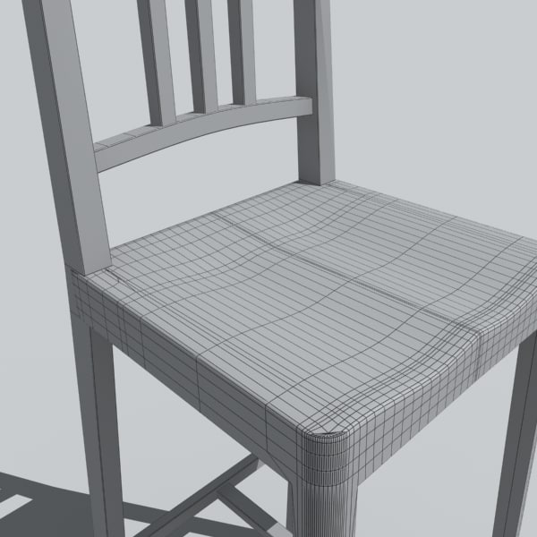 chair stools 3d model - stool 3... by DigitalX