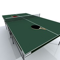 3ds max table tennis set