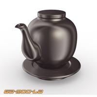 3ds max teapot