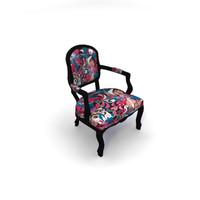 3d model albert armchair