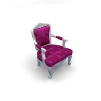 3ds max albert arm chair