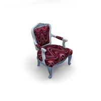 albert armchair 3d model