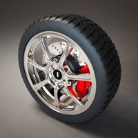 Car wheel 1