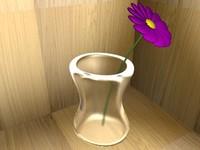 3d model flower vase