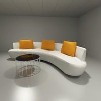3d form sofa model