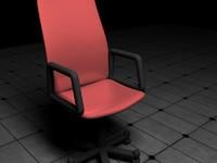 3d model office chair
