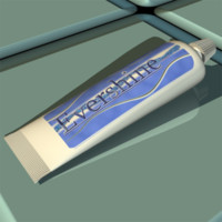 evershine toothpaste 3d model