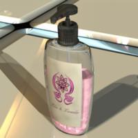 3d model lilac lavender