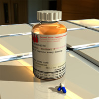 3ds pill bottle