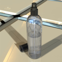 spritzer hairspray 3d model