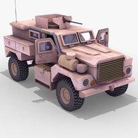 Cougar4x4_MRAP_3DModel