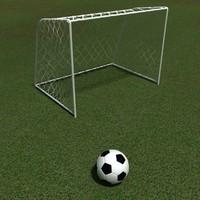 goals ball 3d model