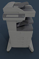 pattern-tracing machine hp laserjet 3d model